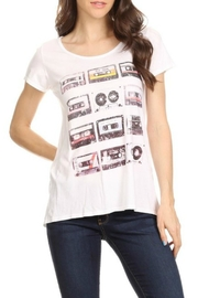 T Party Waist Length Tee - Front cropped