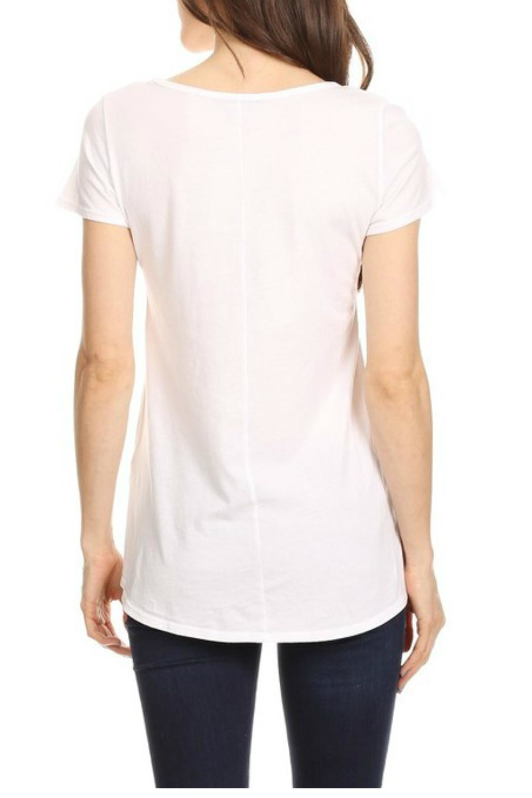 T Party Waist Length Tee - Side Cropped Image