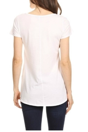 T Party Waist Length Tee - Side cropped