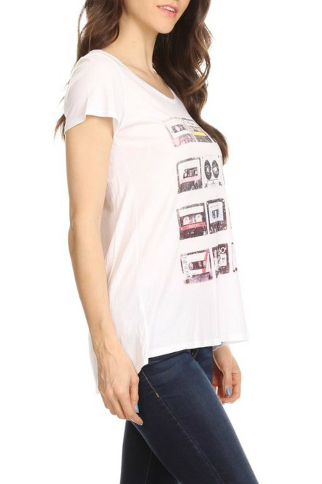 T Party Waist Length Tee - Front Full Image