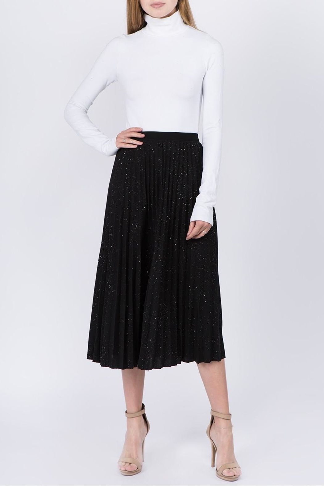 Tabac Sparkly-Skies Pleated Skirt - Main Image