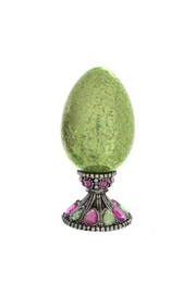 Ganz Tabletop Egg Green - Product Mini Image