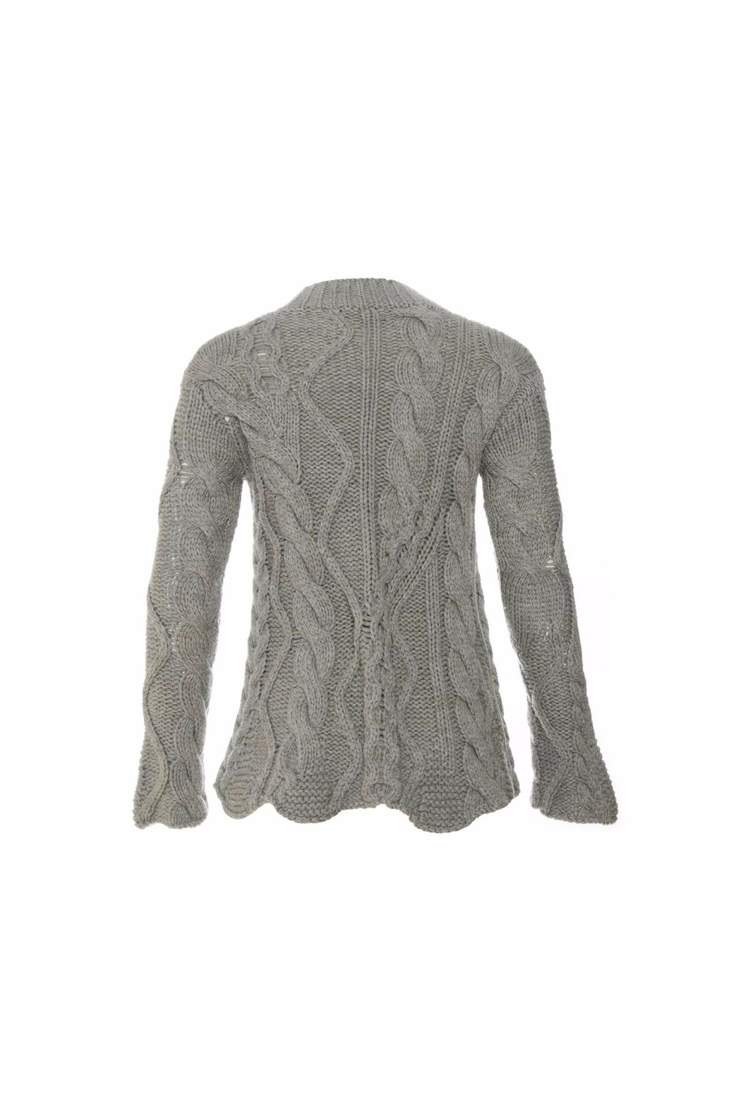 Tabula Rasa Malai Cable Sweater - Front Full Image