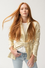Tach Calista Metallic Blazer - Product Mini Image