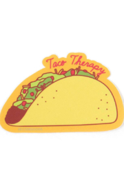 Seltzer Goods Taco Therapy Sticker - Product Mini Image