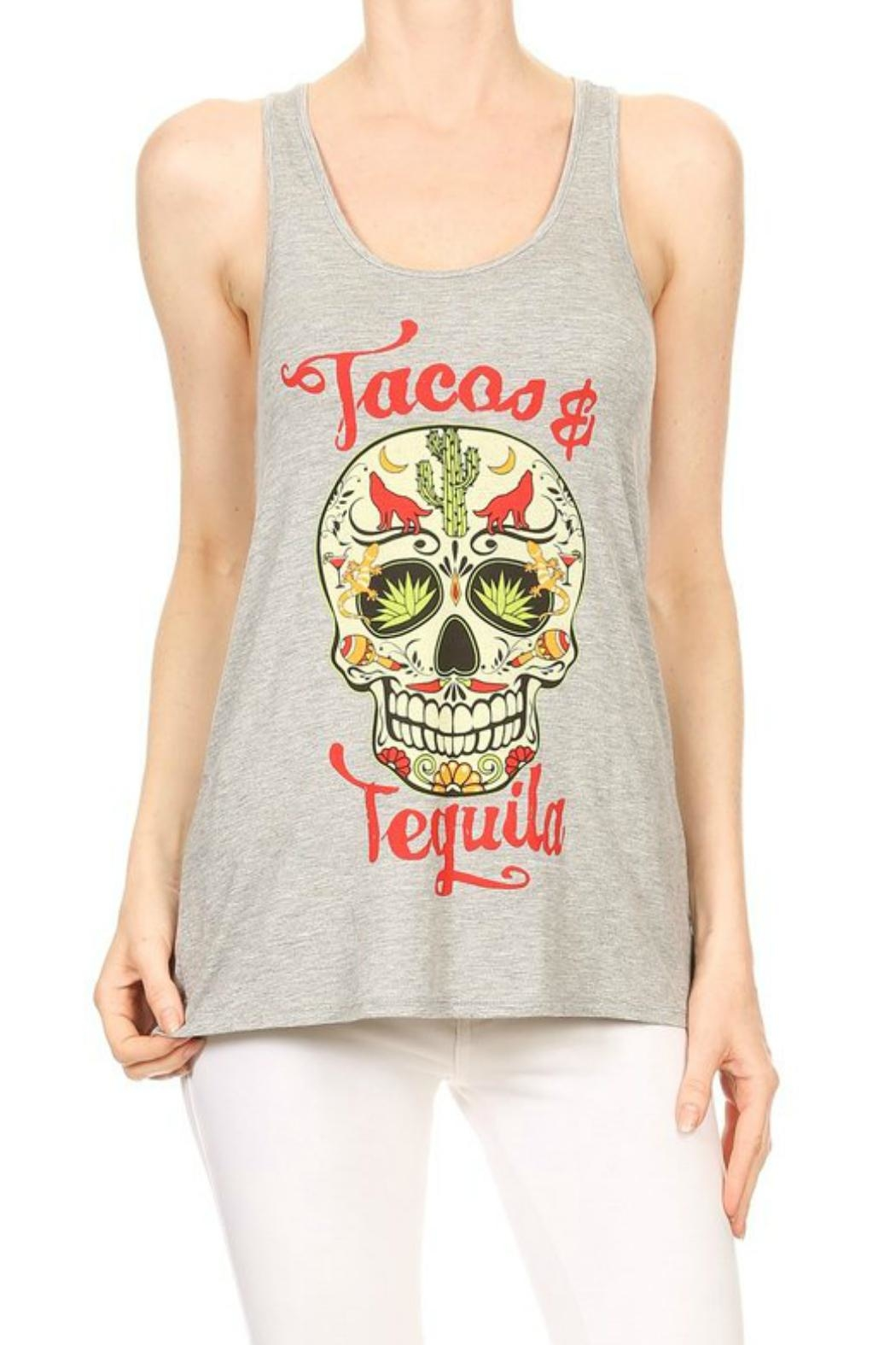 Imagine That Tacos&Tequila Top - Front Cropped Image