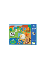 Djeco Tactile 20 Piece Farm Puzzle - Product Mini Image