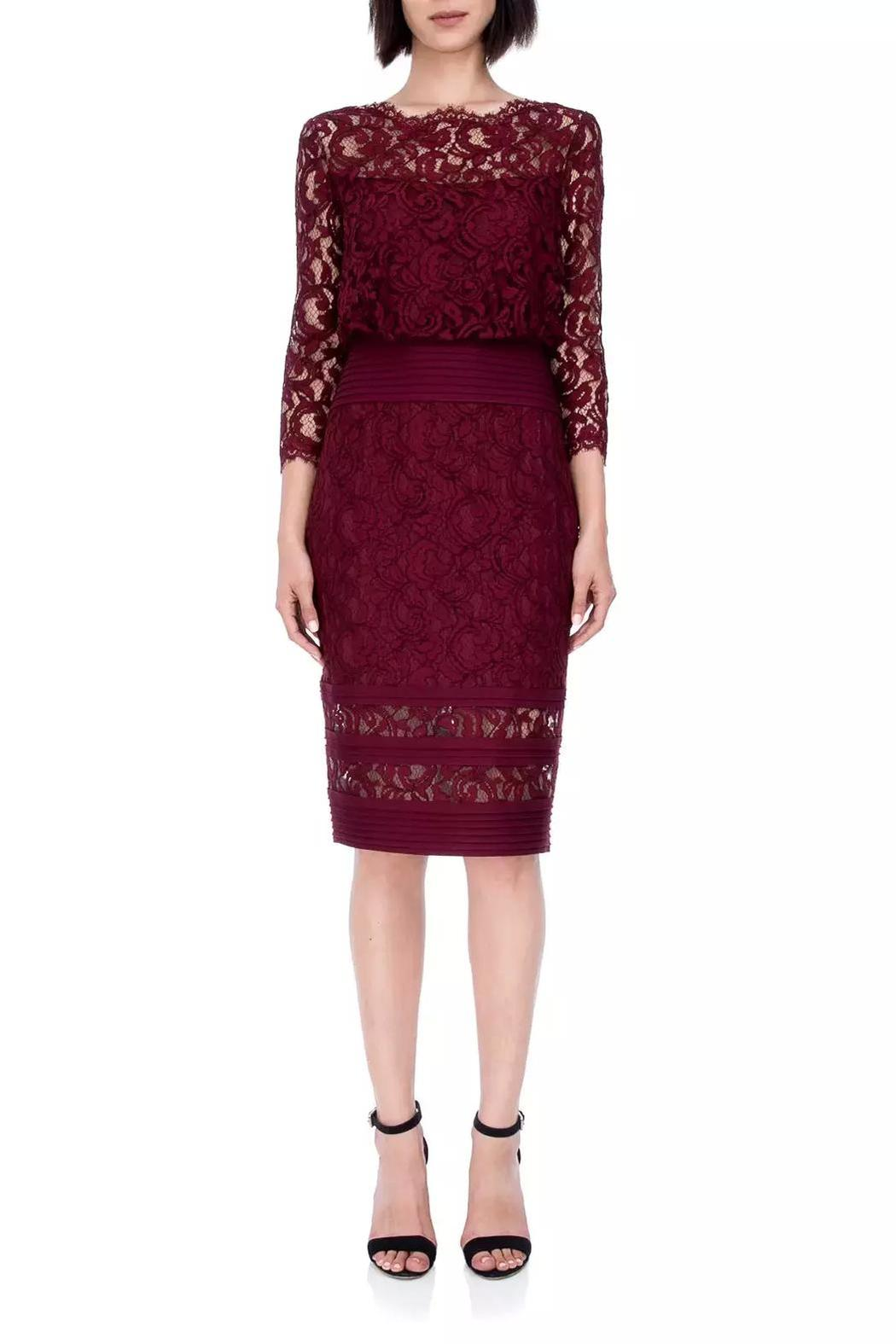 Tadashi Shoji Embroidered Lace Dress from New Jersey by District 5 ...