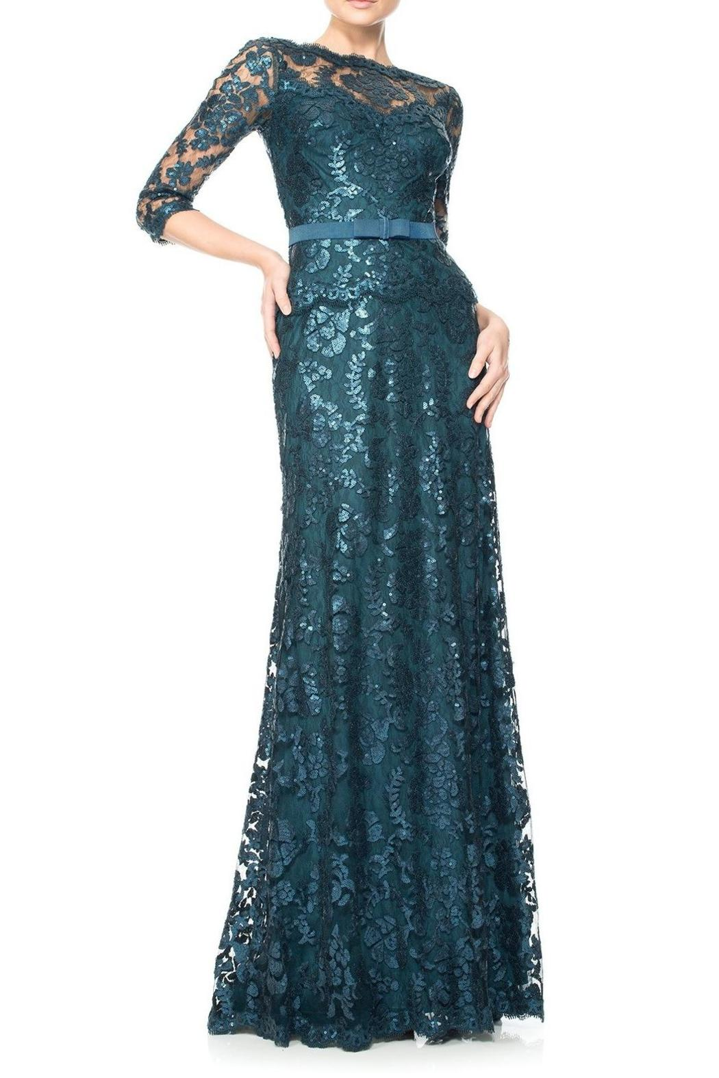 Tadashi Shoji Embroidered Lace Gown from New Jersey by District 5 ...