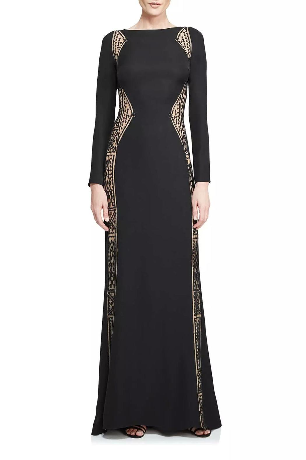 895986131107 Tadashi Shoji Long Sleeve Gown from New Jersey by District 5 ...