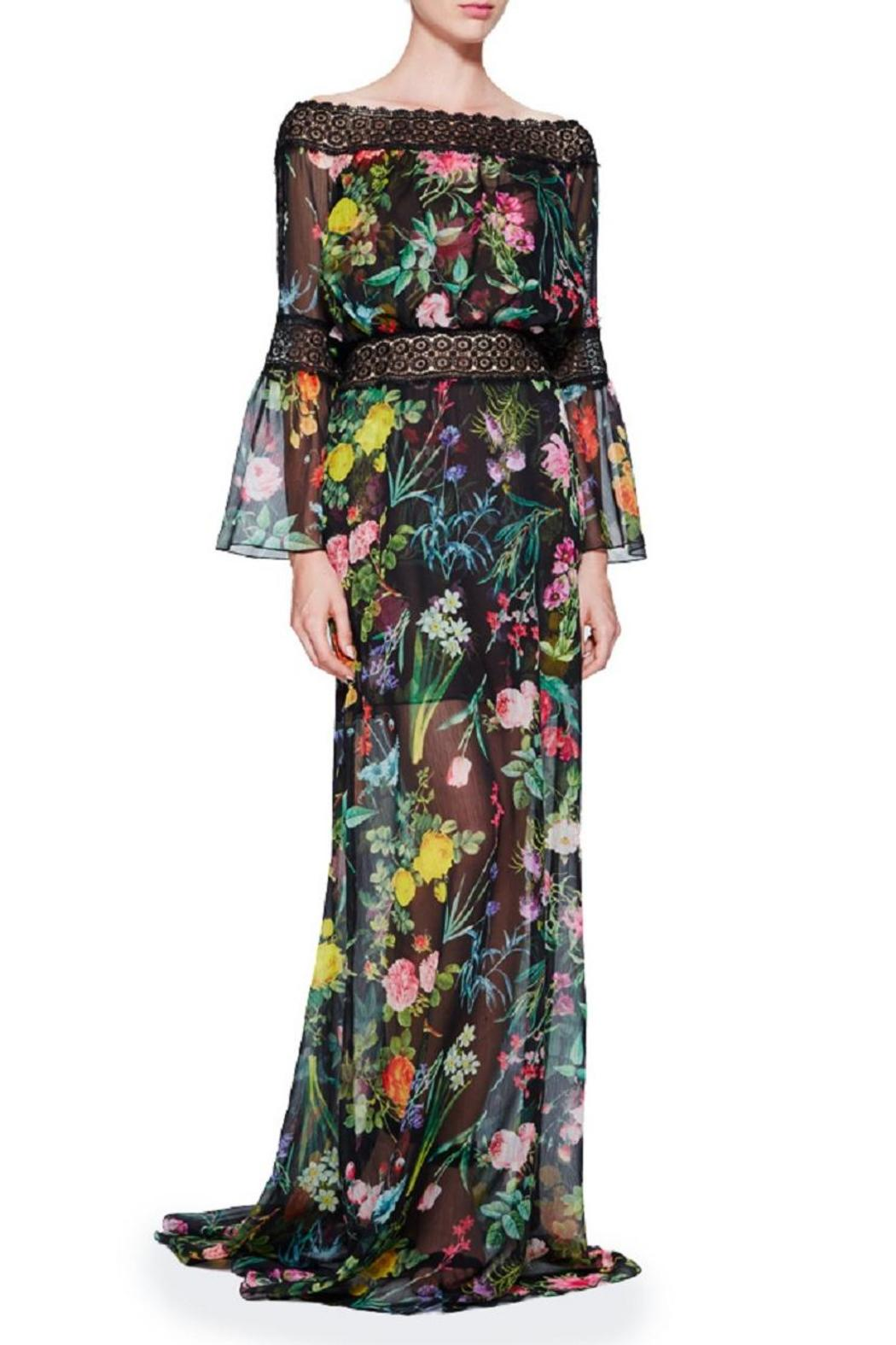 Tadashi Shoji Louna Floral Gown from New Jersey by District 5 ...