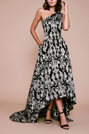 Tadashi Shoji One-Shoulder Ball Gown - Product Mini Image