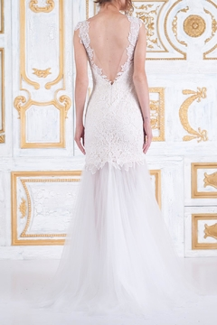 Tadashi Shoji Sleeveless Wedding Gown - Alternate List Image