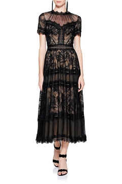 Shoptiques Product: Black Lace Midi Dress