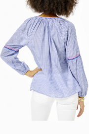 Lilly Pulitzer  Taelynn Striped Top - Front full body