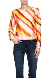 Taffic People Diagonal Stripe Top - Product Mini Image