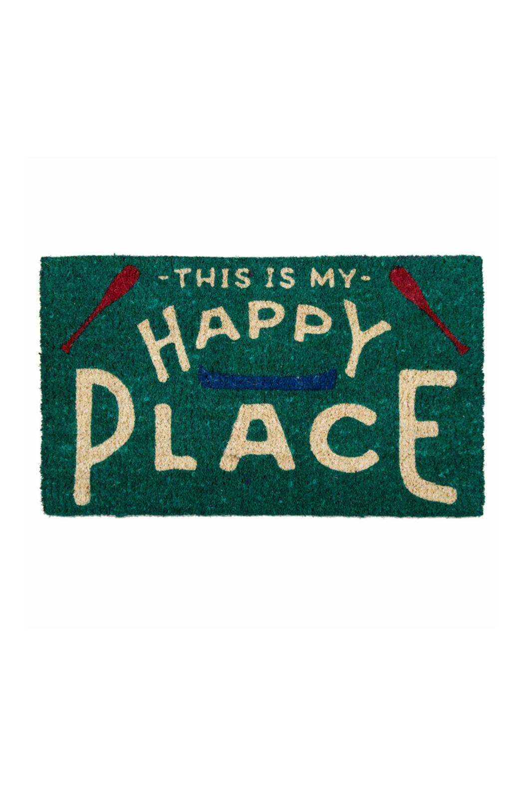 Tag Happy-Place Doormat from Minnesota by Jenny & Company — Shoptiques