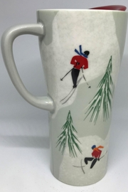 Tag Holiday Handle Mug - Front cropped