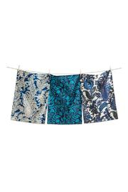 Tag Indigo Dishtowel Set - Front cropped