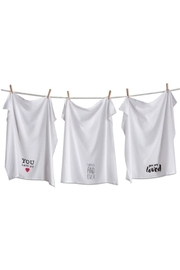 Tag Love Notes Dishtowel-Set - Front cropped