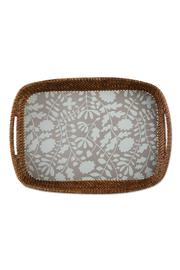 Tag Rattan Tray - Front cropped