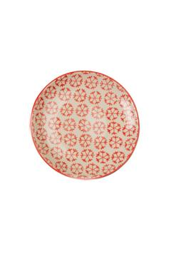 Shoptiques Product: Red Snowflake Small Plate