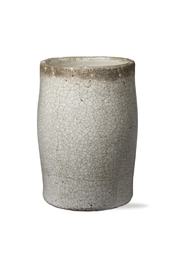 Tag Tall Crackle-Glazed Vase - Product Mini Image