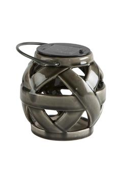 Shoptiques Product: Grey Solar Lantern