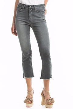 Shoptiques Product: Chopped Hem Flare Jeans