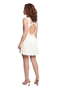 TAGS Crepe Cross Back Dress - Alternate List Image