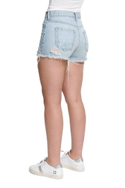TAGS Denim Short w Rip - Side cropped