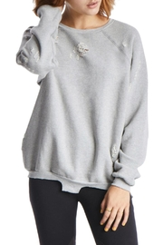 TAGS Distressed Pullover - Product Mini Image