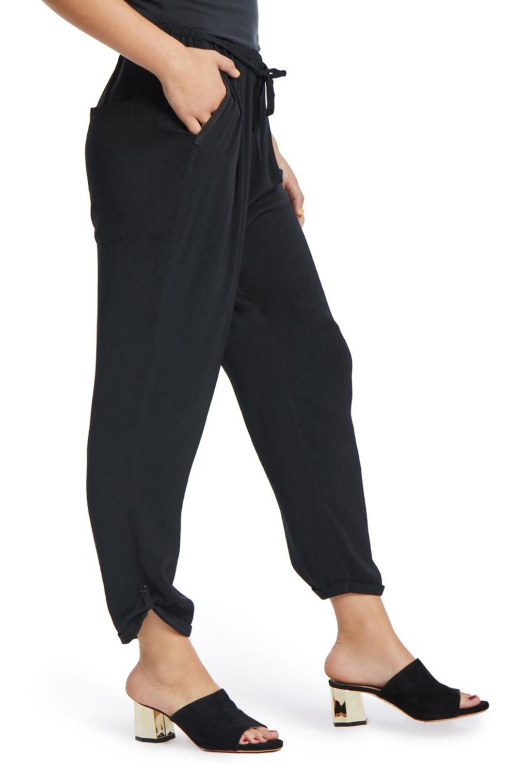 TAGS Drop Crotch Pant - Front Full Image