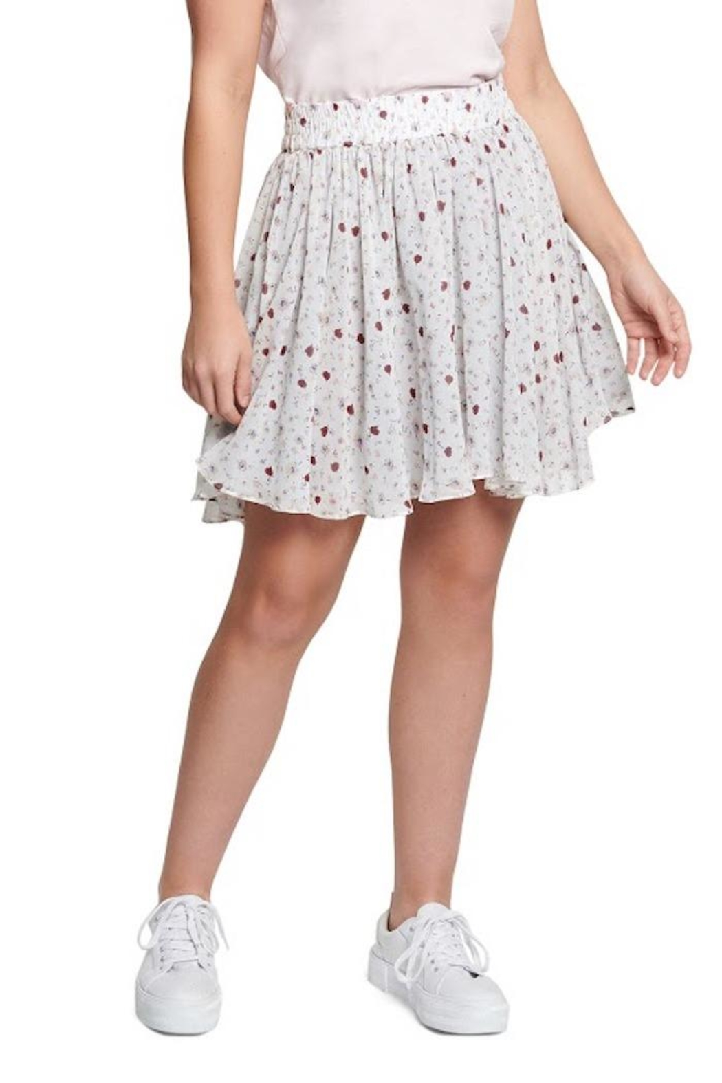 TAGS Floral Skirt - Front Full Image