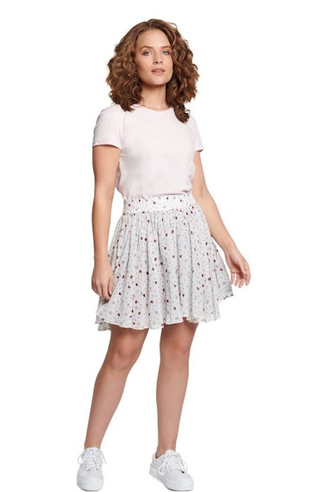 TAGS Floral Skirt - Main Image