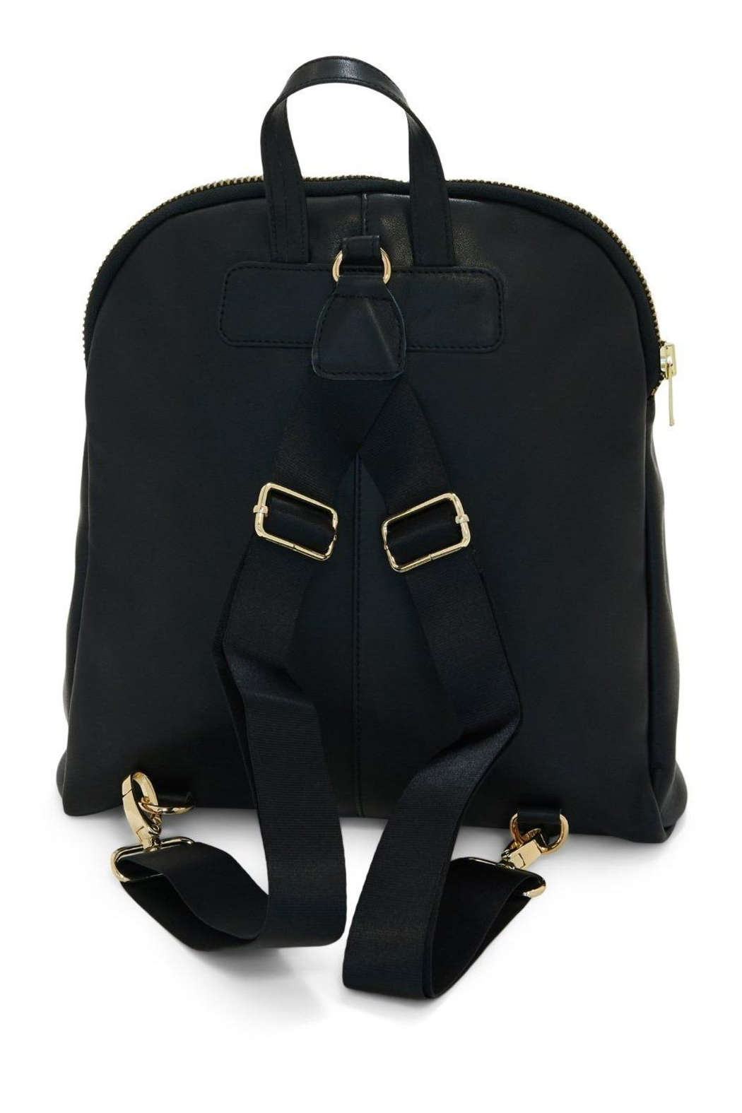 TAGS Leather Mini Backpack - Side Cropped Image