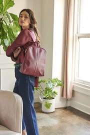 TAGS Leather Mini Backpack - Front cropped