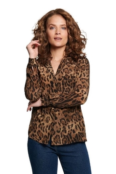 TAGS Leopard Button Up - Product List Image