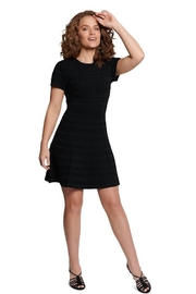 TAGS Little Black Knit Dress - Product Mini Image