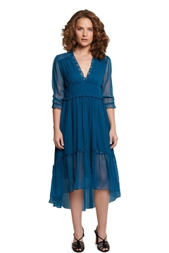 TAGS Maxi Chiffon Dress - Product List Image