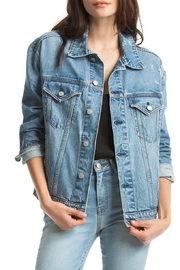 TAGS Oversized Denim Jacket - Product Mini Image