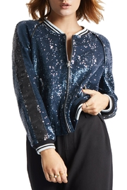 TAGS Sequin Bomber Jacket - Product Mini Image