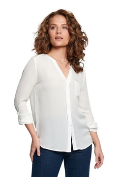 TAGS Silk Longsleeve Top - Product List Image