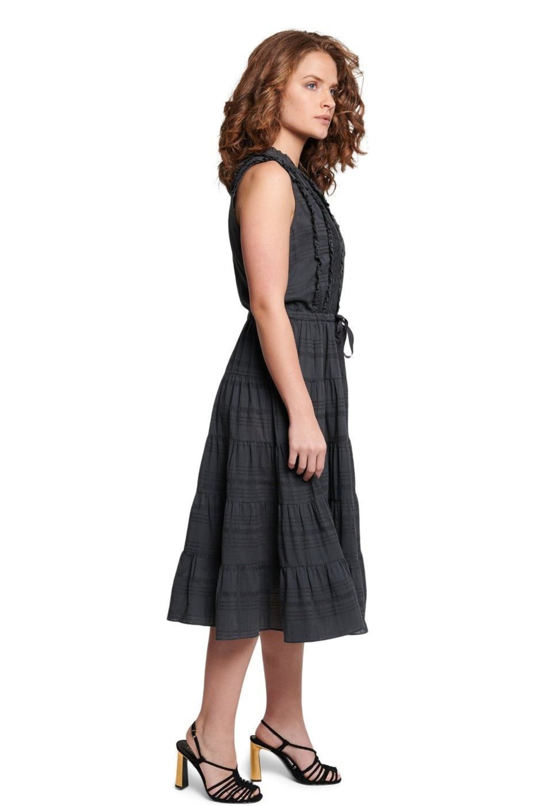 TAGS Sleeveless Tear Dress - Front Full Image