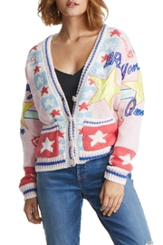 TAGS Varsity Patch Sweater - Front cropped