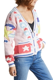 TAGS Varsity Patch Sweater - Front full body