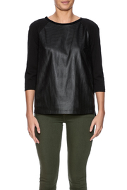 Tahari Laser Cut Top - Side cropped