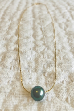 Maka Imports Hawaii Tahitian Pearl Necklace - 14K Gold Filled - Alternate List Image
