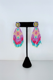 ADRIANA JEWERLY Tai Beaded Earrings - Front cropped