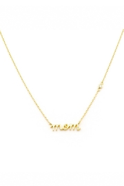 Tai Mom Pendant Necklace - Front cropped